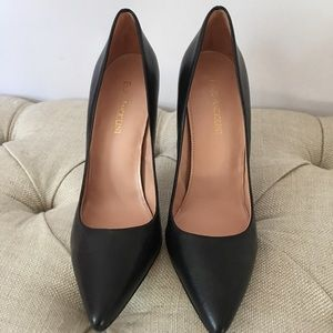 Enzo A leather pointy toes heels